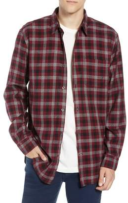 French Connection Regular Fit Dobby Check Shirt