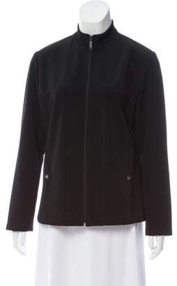 Yigal Azrouel Knit Zip-Up Jacket