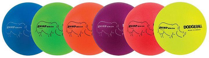 Champion Sports 6-pk. Rhino Skin Neon Dodgeball Set