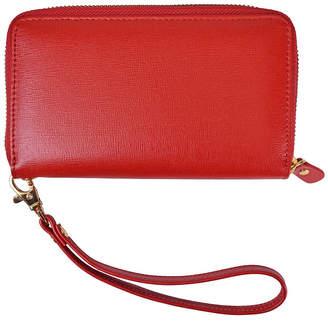 Royce Leather Royce New York Zippered Wristlet Wallet