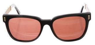 RetroSuperFuture Tinted Square Sunglasses