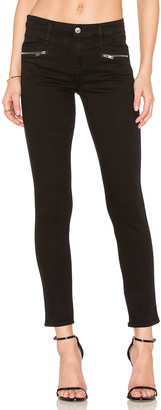7 For All Mankind The Zip Front Ankle Skinny $199 thestylecure.com