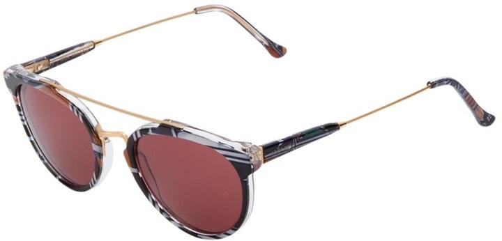 Retro Super Future 'Ndebele special' sunglasses
