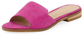 Pelle Moda Hailey Suede Low Slide Sandal