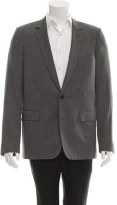 Christian Dior Wool Notch-Lapel Blazer