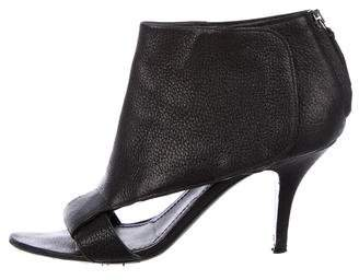 Givenchy Leather Cutout Booties