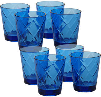 Certified International Diamond Acrylic 15 Oz. Old Fashioned Glasses