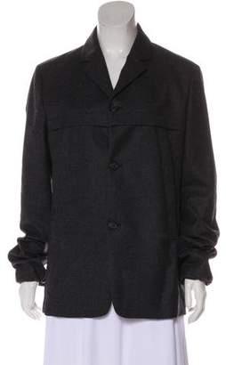Miu Miu Virgin Wool Short Coat