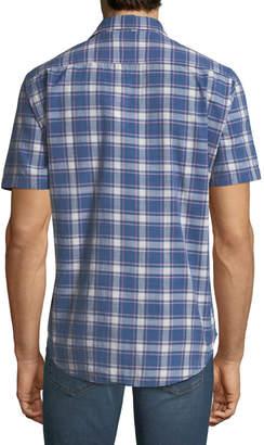 Faherty Men's Ventura Plaid Short-Sleeve Sport Shirt