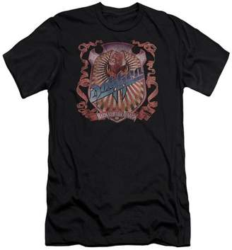 Dokken Back Attack Mens Premium Slim Fit Shirt