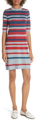 Ted Baker Colour by Numbers Stripe Knit Dress