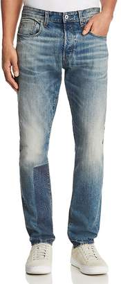 G Star 3301 Prestored New Tapered Fit Jeans in Medium Age