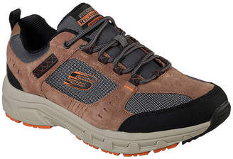Skechers Mens Walking Shoes Lace-up
