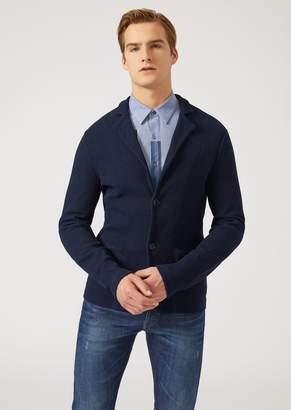 Emporio Armani Unlined Cotton Jacket