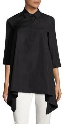 Max MaraMax Mara Solista Asymmetrical Cotton Shirt