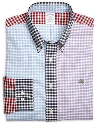 Brooks Brothers Supima Cotton Non-Iron Slim Fit Gingham Fun Oxford Sport Shirt