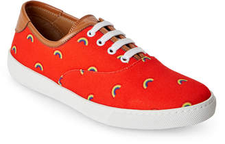 Marc Jacobs Red Rainbow Casual Sneakers