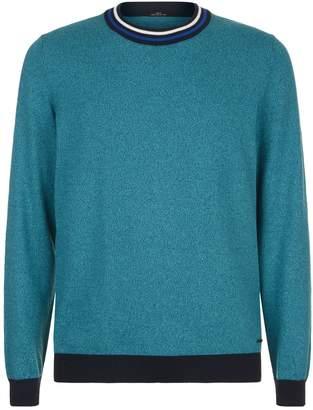 HUGO BOSS Tipped Crew Neck Sweater
