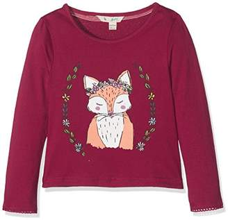Yumi Girl's Fox Print Jersey T-Shirt