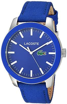 Lacoste Men's 'Lacoste.12.12' Quartz Stainless Steel and Nylon Casual Watch