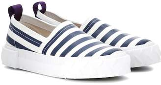Eytys Viper striped slip-on sneakers