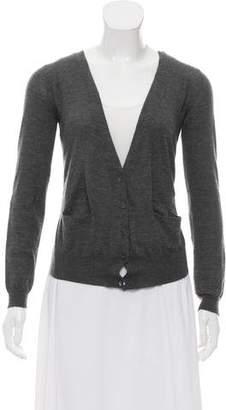 Marni Cashmere Button-Up Cardigan