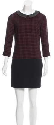 Claudie Pierlot Striped Mini Dress