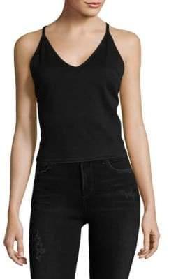3x1 Crisscross Cotton Camisole Top
