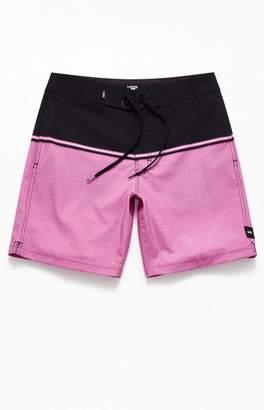 "Vans Black & Pink Newland 17"" Boardshorts"