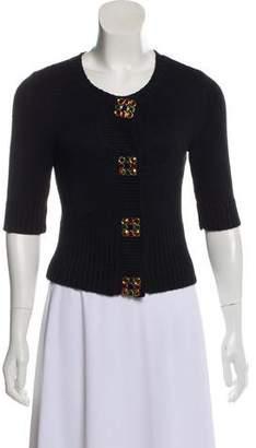 Magaschoni Embellished Silk Sweatshirt