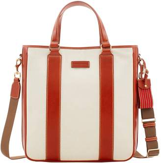 Dooney & Bourke Toscana Canvas Delancey Tote