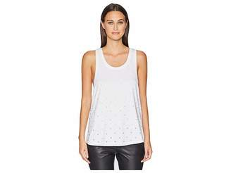 The Kooples All Over Rhinestone Tank Top