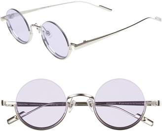 CLYDE BONNIE Desierto 42mm Round Sunglasses