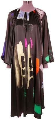 Roksanda colour-block draped dress