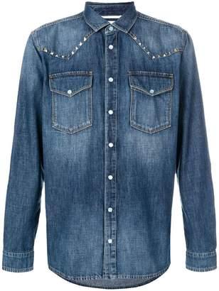 Valentino Rockstud denim shirt