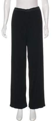 Issey Miyake High-Rise Wide-Leg Pants