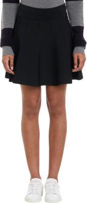 A.L.C. Compact Knit Piper Flared Mini-Skirt
