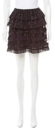 Isabel Marant Textured Mini Skirt w/ Tags