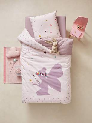 Vertbaudet Children's Duvet Cover & Pillowcase Set, Tiny Fairy Theme