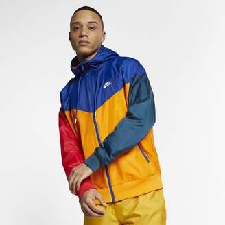 82df9db0929270 Nike Men s Hooded Windbreaker Sportswear Windrunner