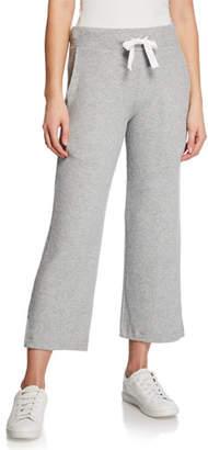 Sundry Wide-Leg Rib Lounge Pants