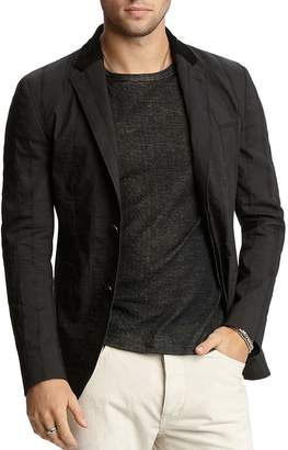 John Varvatos Collection Textured Slim Fit Jacket