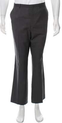 Prada Virgin Wool Pinstripe Dress Pants