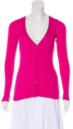 Dolce & Gabbana Silk Knit Cardigan