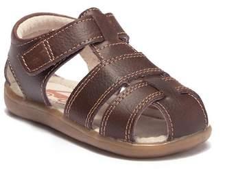 See Kai Run Jude III Brown Leather Sandal (Toddler)