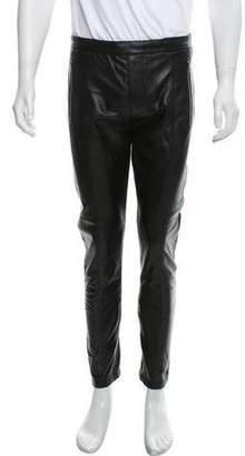 Givenchy Leather Biker Pants