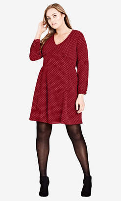 City Chic Sweet Nothing Dress