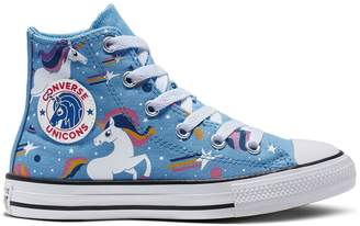 Converse Girls' Chuck Taylor All Star Unicons High Top Shoes