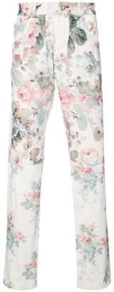 Loewe floral print trousers