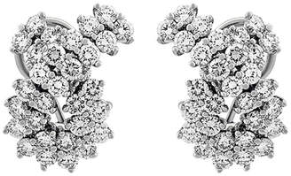Tiffany & Co. Estate Platinum Diamond Earrings